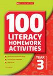 Picture of 100 Literacy Homework activities year 3 NEW EDITION