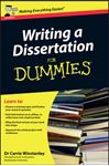 Picture of Writing a Dissertation For Dummies