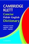 Picture of Cambridge Klett concise Polish-English dictionary