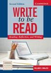 Picture of Write To Be Read : Reading, Reflection, and Writing