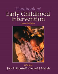 Picture of Handbook of Early Childhood Intervention