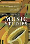 Picture of Introduction to Music Studies