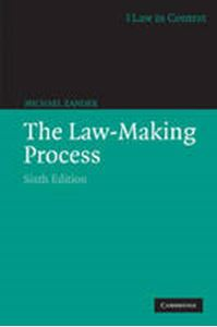 Picture of Law-Making Process 6ed