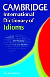 Picture of Cambridge International Dictionary of Idioms