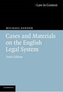 Picture of Cases and Materials on the English Legal System 10ed