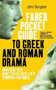 Picture of Faber Pocket Guide To Greek And Roman Drama