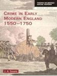Picture of Crime in Early Modern England 1550-1750