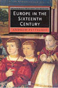 Picture of Europe in the Sixteenth Century