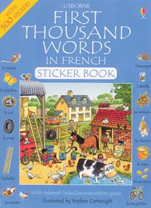 Picture of First Thousand Words in French (Sticker Book)