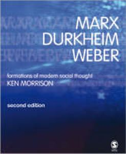 Picture of Marx Durkheim Weber