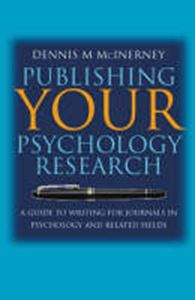 Picture of Publishing your Psychology Research