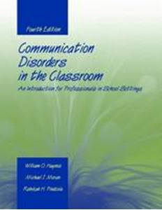 Picture of Communication Disorders in the Classroom