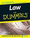 Picture of Law For Dummies