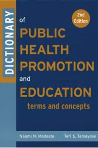 Picture of Dictionary Of Public Health Promotion and Education