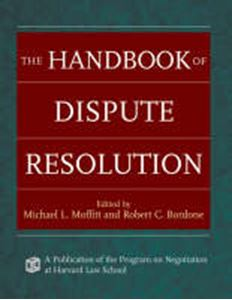 Picture of Handbook of Dispute Resolution
