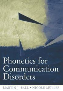 Picture of PHONETICS FOR COMMUNICATION DISORDERS