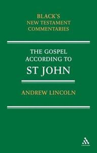 Picture of Gospel according to St John: Black's New Testament Commentaries Series