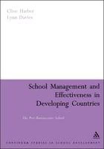 Picture of School Management and effectiveness in developing countries