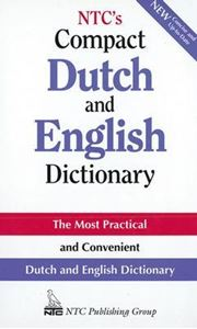 Picture of NTC's Compact Dutch and English Dictionary