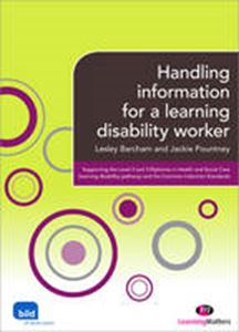 Picture of Handling Information for a Learning Disability Worker