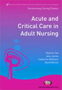 Picture of Acute And Critical Care In Adult Nursing