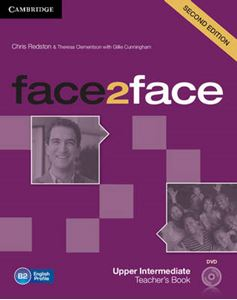 Picture of Face2face Upper Intermediate Teacher's Book with DVD