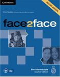 Picture of Face2face Pre-intermediate Teacher's Book with DVD