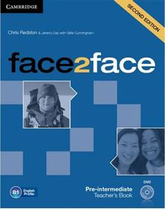 Picture of Face2face Pre-intermediate Teacher's Book with DVD 2ed