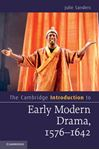 Picture of Cambridge Introduction to Early Modern Drama, 1576-1642