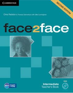 Picture of Face2face Intermediate Teacher's Book with DVD