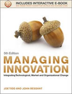 Picture of Managing Innovation: Integrating Technological, Market And Organizational Change 5ed