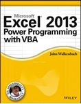 Picture of Excel 2013 Power Programming with VBA