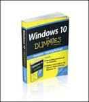 Picture of Windows 10 for Dummies Book + Online Videos Bundle