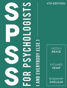 Picture of SPSS for Psychologists 6ed