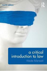 Picture of Critical Introduction to Law 4ed