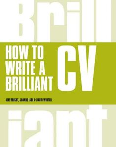 Picture of How to Write a Brilliant CV