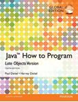 Picture of Java: How to Program (Late Objects), Global 10ed