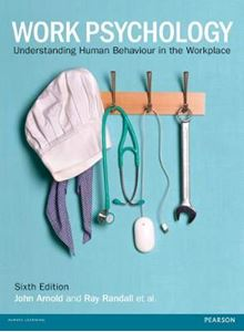 Picture of Work Psychology 6ed