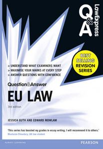 Picture of Law Express Question and Answer: EU Law (Q&A Revision Guide) 3e