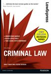 Picture of Law Express: Criminal Law 6ed