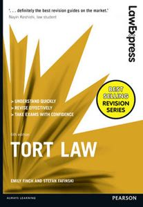 Picture of Law Express: Tort Law 6ed