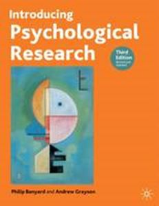 Picture of Introducing Psychological Research 3ed