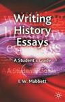 Picture of Writing History Essays: A Student's Guide
