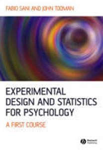 Picture of Experimental Design and Statistics for Psychology