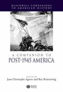 Picture of Companion to post-1945 america