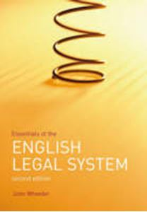 Picture of Essentials of the English Legal System 2ed