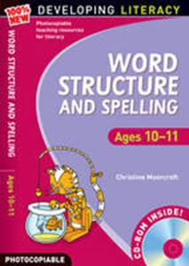 Picture of New Developing Literacy - Word: Structure and Spelling Ages 10-11