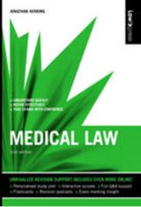 Picture of Medical Law 2ed