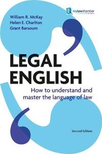 Picture of Legal English: How to Understand and Master the Language of Law 2ed