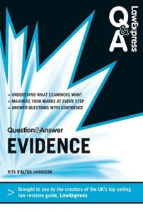 Picture of Law Express Question and Answer: Evidence Law (Revision Guide)